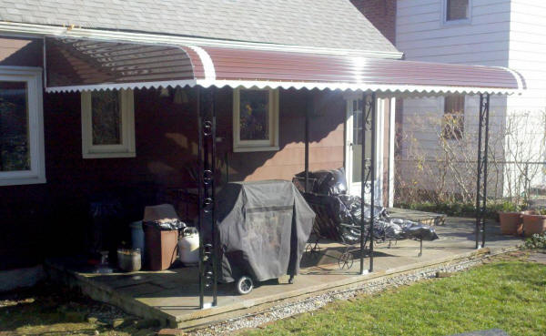 Aluminum Awnings. Aluminum Patio Cover