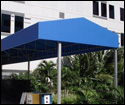 gable awnings