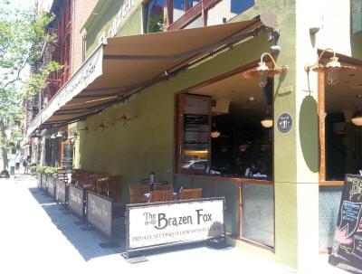 Brazen Fox Outdoor Dining Area ...