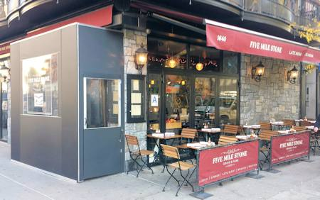 Outdoor Dining Awning Resturant Retractable Awnings