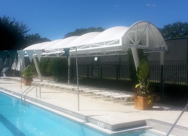 Bronxville Field Club Pool Awnings Mount Vernon NY & Country Club Canopies and Awnings | GS u0026 S | Westchester County NY