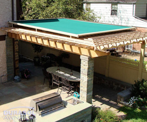 Retractable Pergola Awning