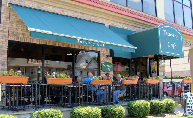 Restaurant Awnings And Cafe Covers