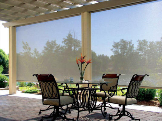 Patio Solar Screen