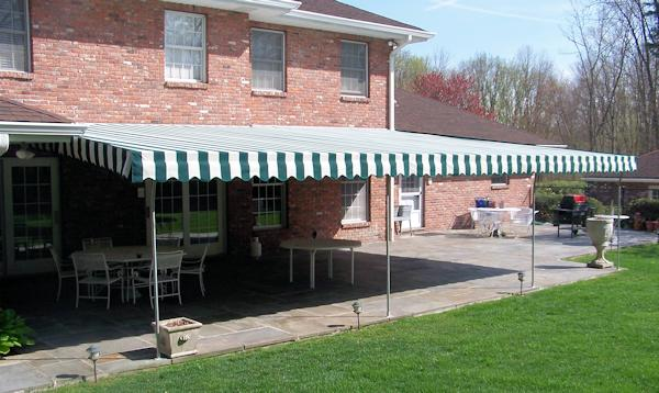 Stationary Patio Awnings Westchester County Ny Fixed Deck Awnings