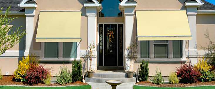 Westchester County Ny Window Awnings Door Canopies Gs And S Awnings