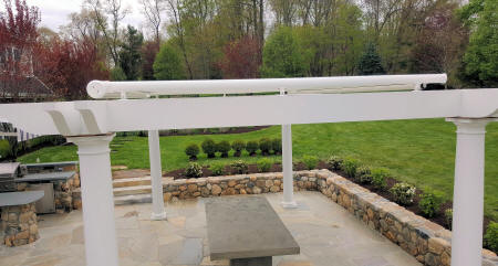 Pinnacle Pergola Shade Awning